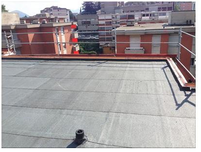 Ristrutturazione del tetto fase - Tetto impermeabilizzato a regola d'arte