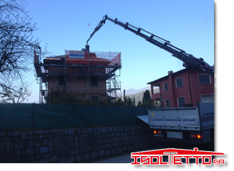 Ristrutturazione del tetto a Davescoi