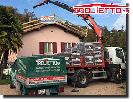 Bioggio ristrutturazione edilizia del tetto