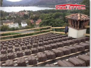 Struttura del tetto - Muzzano Lugano